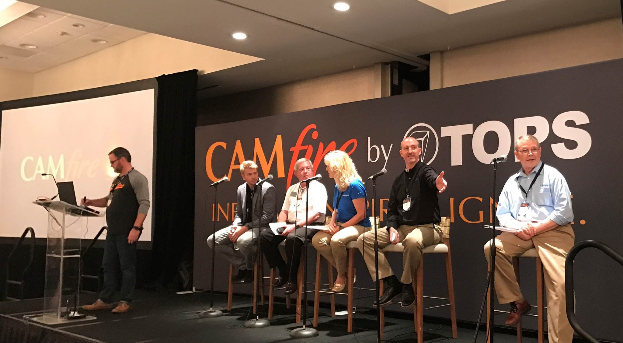 AvidXchange's Jan Skinner participates in a keynote panel discussion at @TOPSSoft's 2017 CAMfire Conference in Orlando! #CAMfire17 https://t.co/iVczpMvq7O