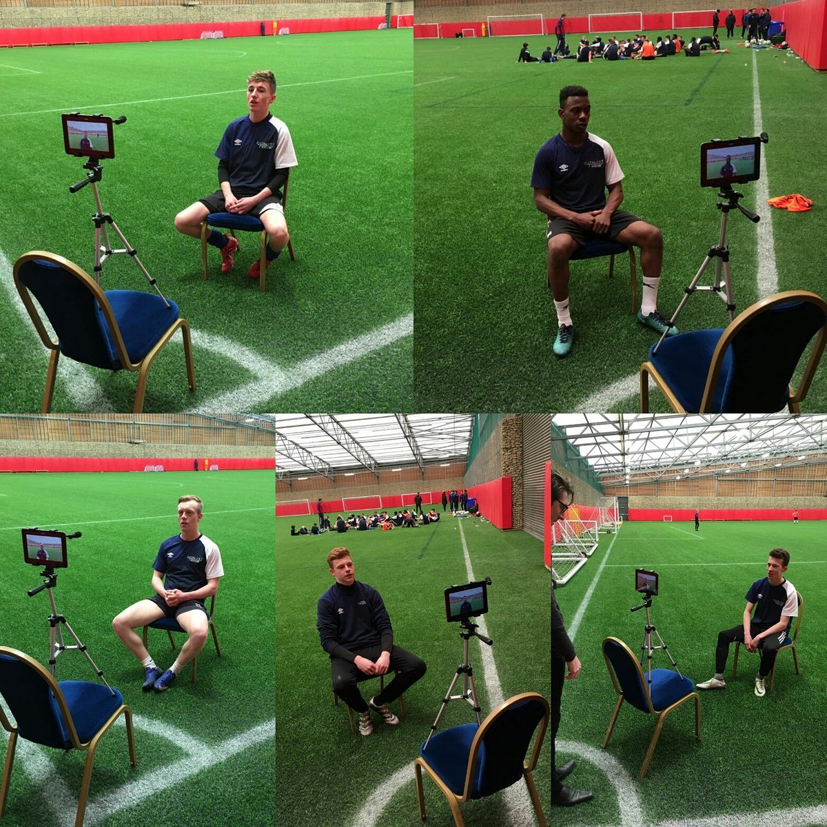 Interview day for C4S lads! ⚽ #mediatraining #c4sfam #c4sacademy #platform #experience https://t.co/wG1sEUZBYe
