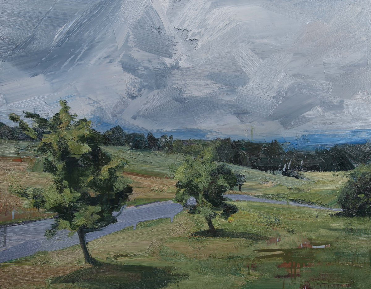 Tai-Shan Schierenberg, Two Trees, 2014, oil on canvas. New exhibition now open https://t.co/BvOVeWi7F8
