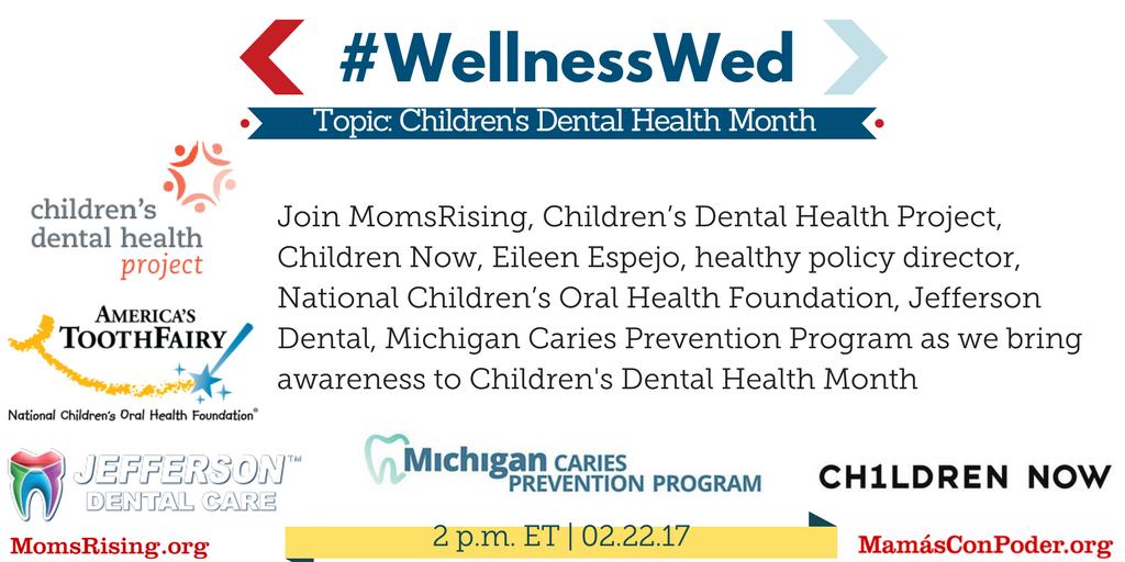 Thumbnail for #WellnesWed: National Children's Dental Health Month