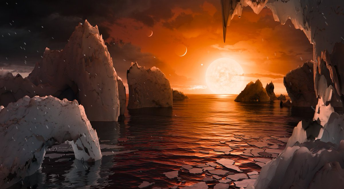 7 Earth-size planets. Any could have liquid water. Welcome to #TRAPPIST1 https://t.co/KV041G9kPU https://t.co/DmvFS8tje0