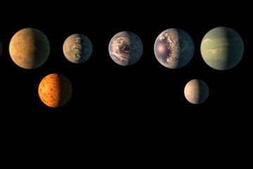 Here's the Major Discovery! 7 Earth-Size Alien Planets Circle Nearby Star #TRAPPIST1 https://t.co/PUakbfUyix