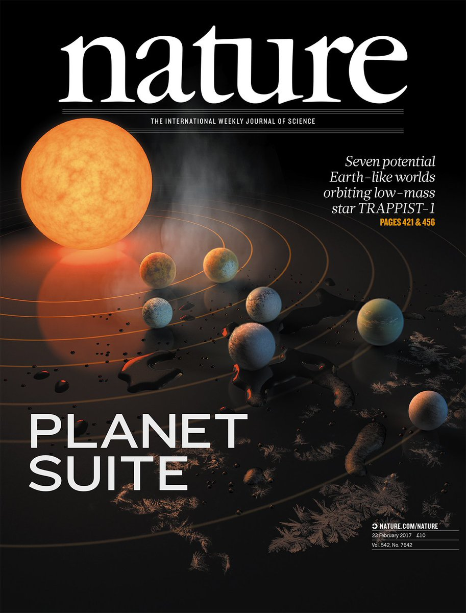 Seven Earth-sized exoplanets have been discovered orbiting a nearby star #TRAPPIST1 https://t.co/8QDddfmkaF