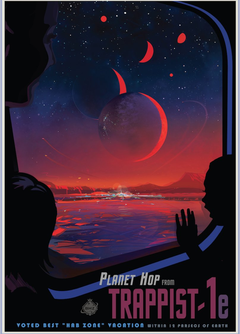 Did you need the travel poster for #trappist1? NASA has you covered  https://t.co/Vu1jChZVOI https://t.co/gwxVEDGBLl