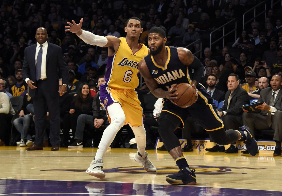 Paul George is considering signing with the Lakers as a free agent, ac...