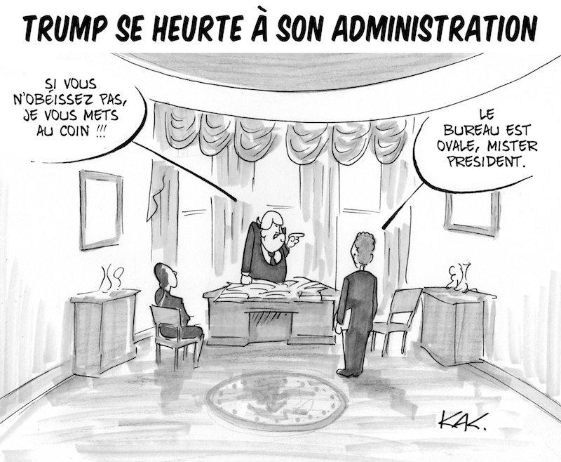 Ça tourne pas rond pour Donald #USA #dessin  http://www. monsieurkak.com  &nbsp;  <br>http://pic.twitter.com/h41SbAcAeQ