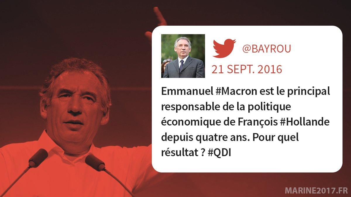 Pour parler de #Macron, qui mieux que #Bayrou ? #MLPTF1 https://t.co/B...