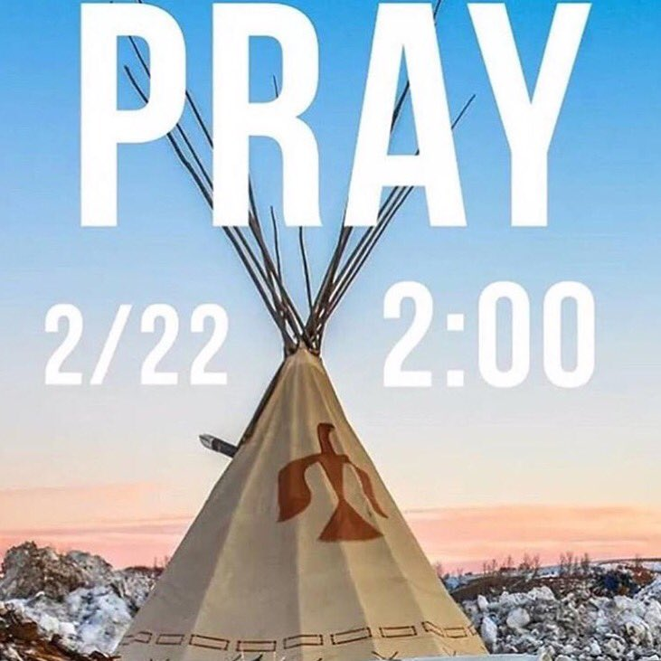GLOBAL PRAYER FOR Water protectors at Oceti Sakowin camps BEING FORCIB...