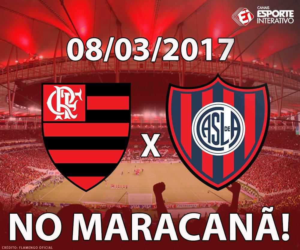 OFICIAL! O @Flamengo anunciou que a estreia do clube na Libertadores s...