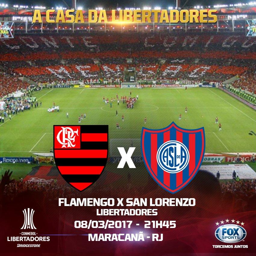 🔴⚫️ CONFIRMADO! A estreia do #Flamengo na #LibertadoresFOXSports será...