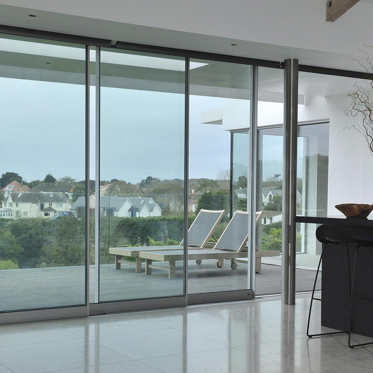 Fineline Aluminium on Twitter  Horizons House | Corner Doors | By Fineline . Architect Jamie Falla | Photo Matt Cantu2026   & Fineline Aluminium on Twitter: