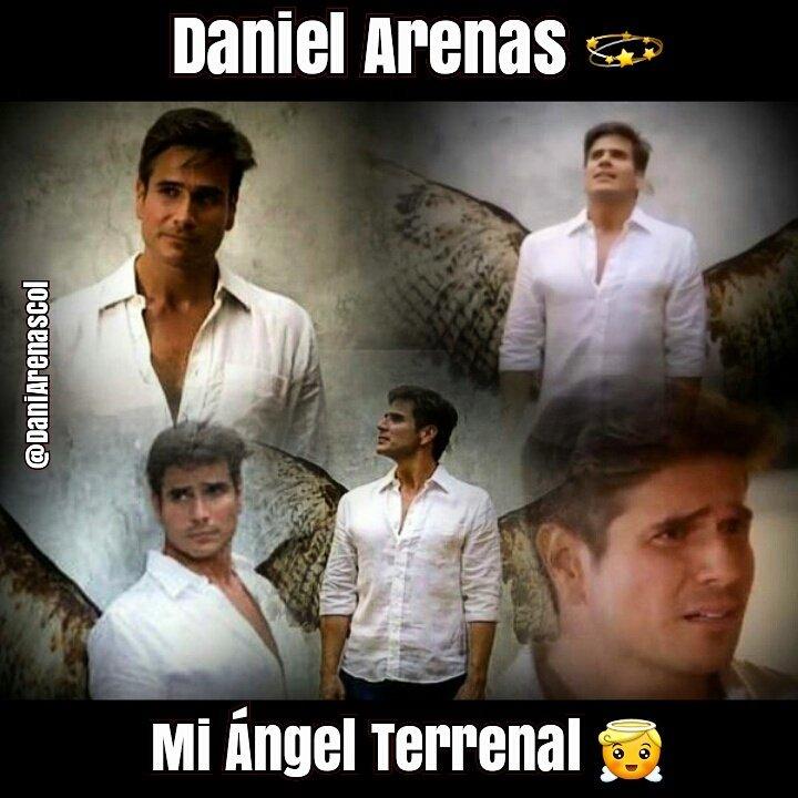 @DanArenas mi Angel Terrenal 😇💫😍 #FelizMiercoles ☀🌈🌸 mi Gente Bella de...
