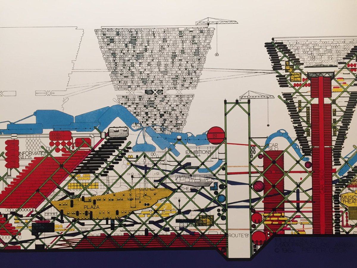 Peter Cook: 80 years - 80 ideas exhibition opens @BartlettArchUCL #architecture #archigram https://t.co/2uYyivZitM