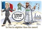 Le Pen: a true feminist #nohijab #imwithher <br>http://pic.twitter.com/bSXw1a3ZpW