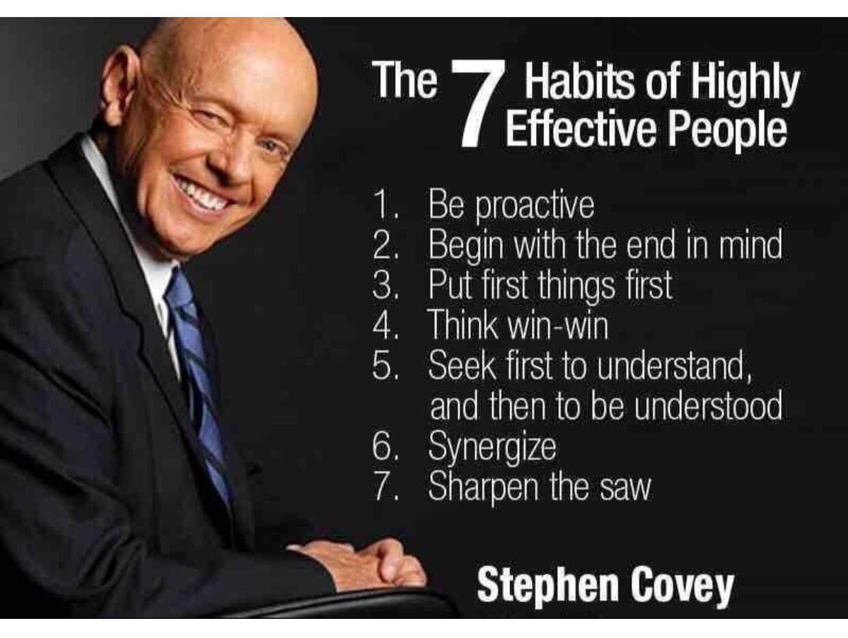 THE SEVEN HABITS OF HIGHLY EFFECTIVE PEOPLE  TTU