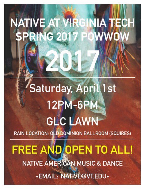 #gedivt A local opportunity to experience a piece of Native culture with us. I hope to see yall there #plzshare #NativeatVT https://t.co/WLAX4HrBEH