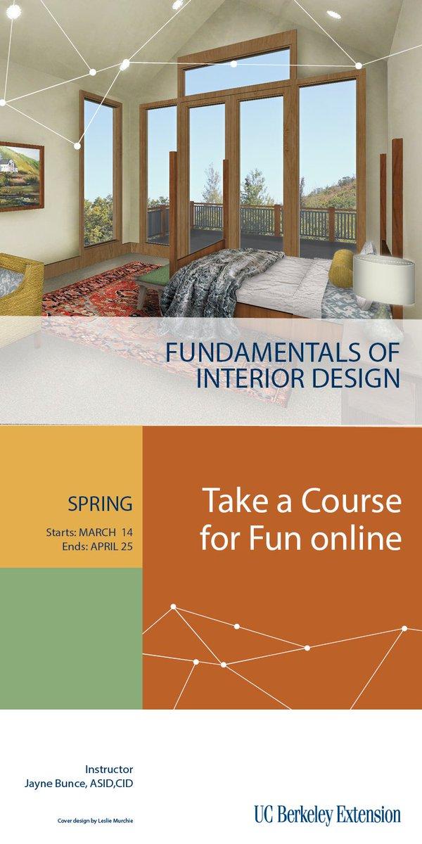 Fundamentals Of Interior Design Ucbx.intdesign Ucbextidia  Twitter