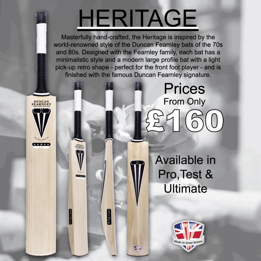The Heritage Bat A Clic Looking Inspired By Bats Of 70s 80s Teamfearnley Handmade