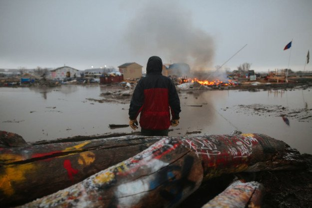 Peace walks kick off as Army Corps closes Dakota Access Pipeline protest camps