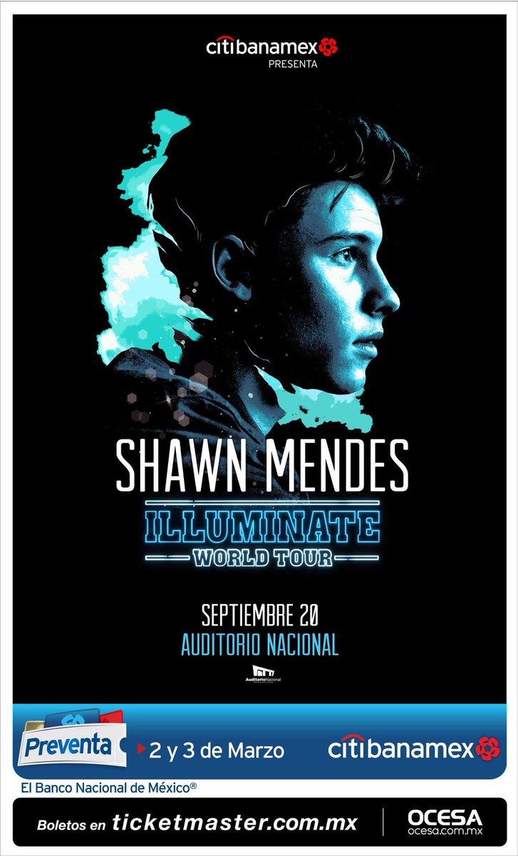 .@ShawnMendes viene a la CDMX el 20 de septiembre en el @AuditorioMx 😍...