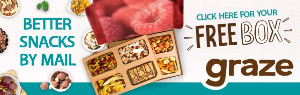 Get this Graze snack sampler box valued at $13.99 FREE Ad #free #freesamples https://t.co/y5MqjhGM8U https://t.co/LJaG6Gwf7p