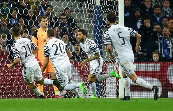 Porto Juventus 0-2: entrano Pjaca e Dani Alves e segnano premiando Allegri