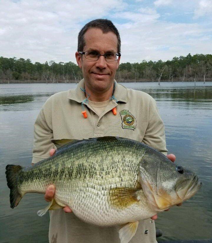 Georgia dnr wildlife on twitter check this 10 pound for Ga dnr fishing