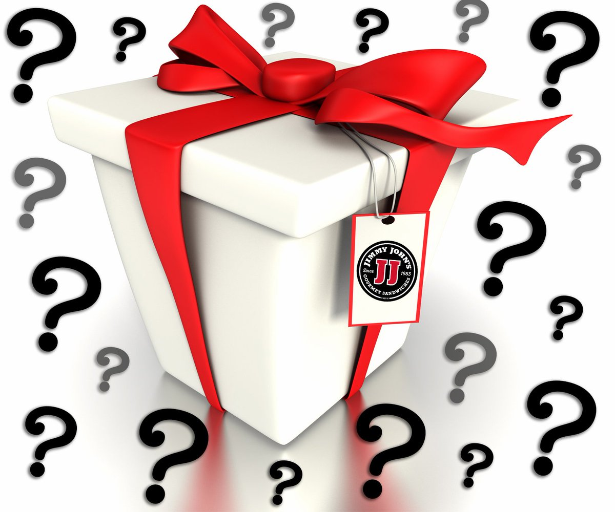 RT & Follow me 4 a chance to win a @jimmyjohns prize pack. 4 winners picked at random in 4 hrs. #WinItWednesday