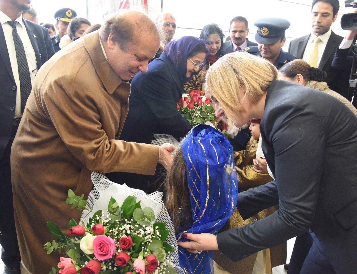 Beenish Saleem On Twitter Warm Welcome Of Pmns In Turkey Heart