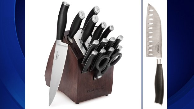 Calphalon recalling 2 million knives because they could break off during use.