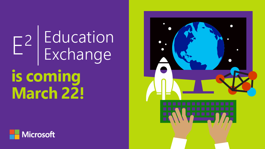 Join the #E2 digital event on 3/22, interact w/ speakers &amp; online participants, ask questions, &amp; leave inspired.  http:// msft.social/N5ibsB  &nbsp;  <br>http://pic.twitter.com/hH8UJE1LYx