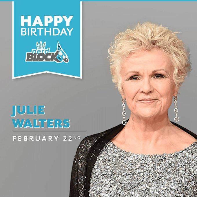 Happy birthday Julie Walters! To us, you\ll always be Mrs. Weasley.