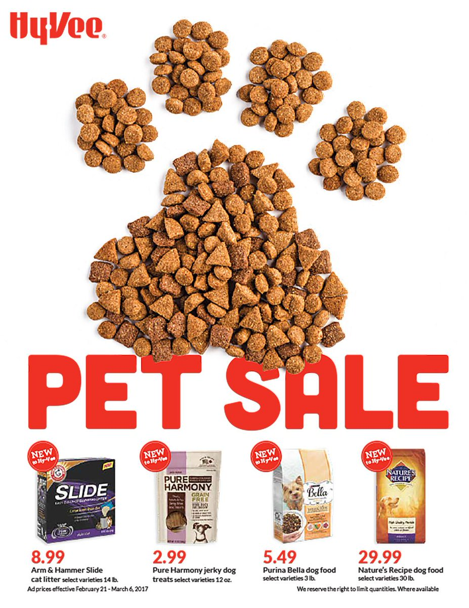 Time to spoil the pets! Check out our full Pet Sale ad online (NOW- Ma...