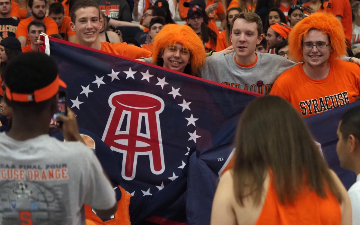 Syracuse Basketball On Twitter The Student Section Seems Ready For