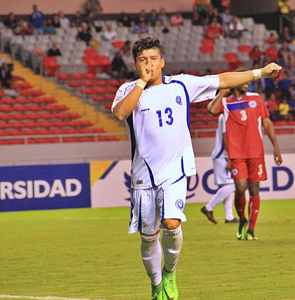 Campeonato CONCACAF 2017: El Salvador 3 Bermudas 1. C5TztogUEAAop1Z