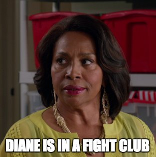 No, Ruby, no.  The first rule of fight club... #blackish https://t.co/...
