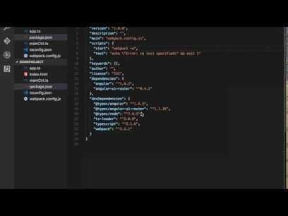 #AngularJS with #Webpack and Typescript https://t.co/J3uakDineH