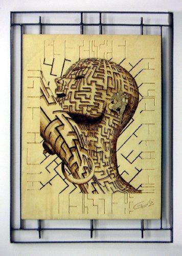 #laberinto #grabado by pablo  #giollo #DMAgallery  http:// 10000artistas.com/galeria/2279-g rabado-laberinto-pesos-0.00-pablo--giollo/ &nbsp; … <br>http://pic.twitter.com/YdHuYx3vDd