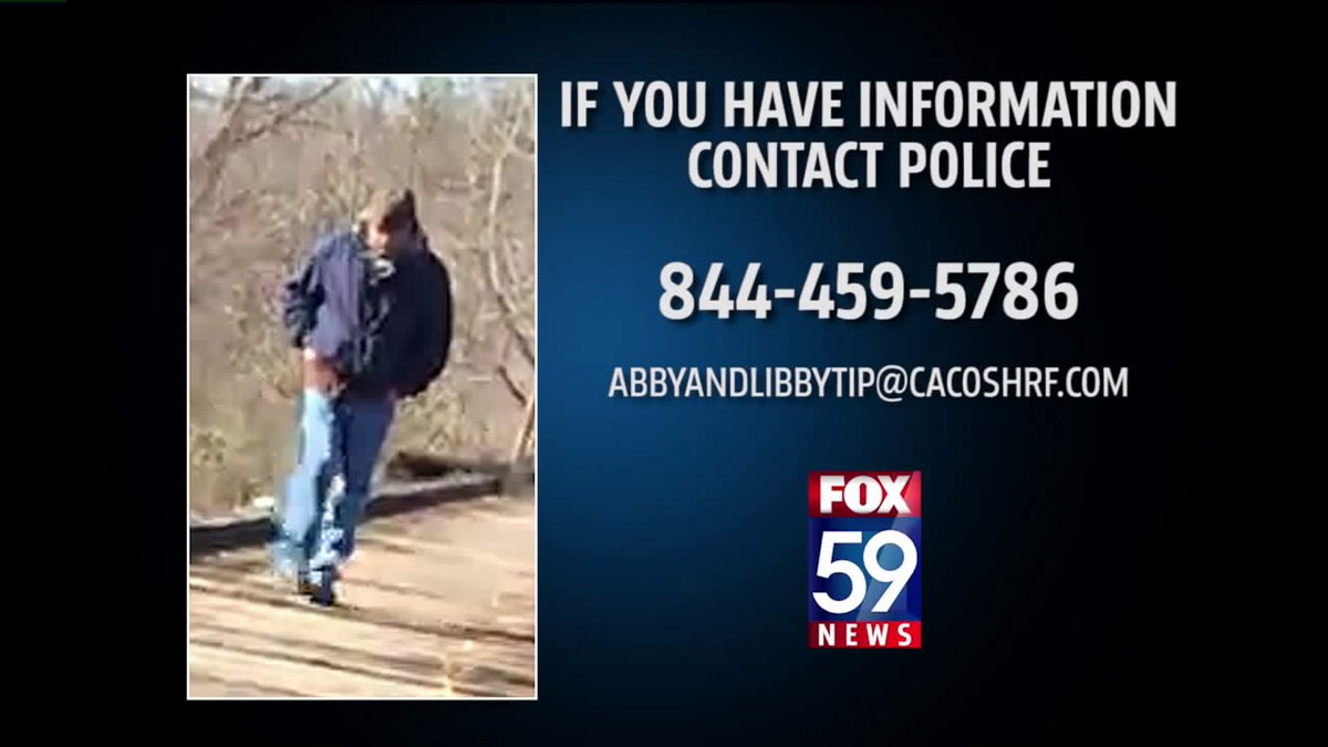 Search warrant served in case of slain Delphi, Indiana girls