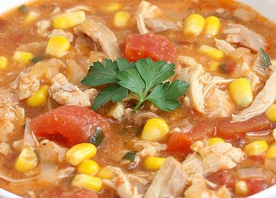 Crock Pot Tex-Mex Chicken Stew