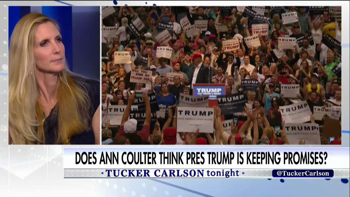""".@AnnCoulter on what @POTUS could improve: """"I think he could tweet more. I love his tweets.&quot; #Tucker <br>http://pic.twitter.com/bJxy36HwEv"""