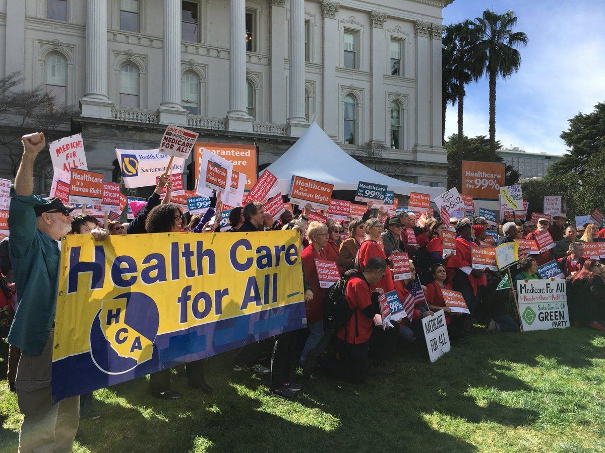 Democrats introduce #Medicare4All bill #SB562 to create universal healthcare program in CA   #HealthyCA    @KPFANews  http:// bit.ly/2mnp7MR  &nbsp;  <br>http://pic.twitter.com/YObvTdbo0P