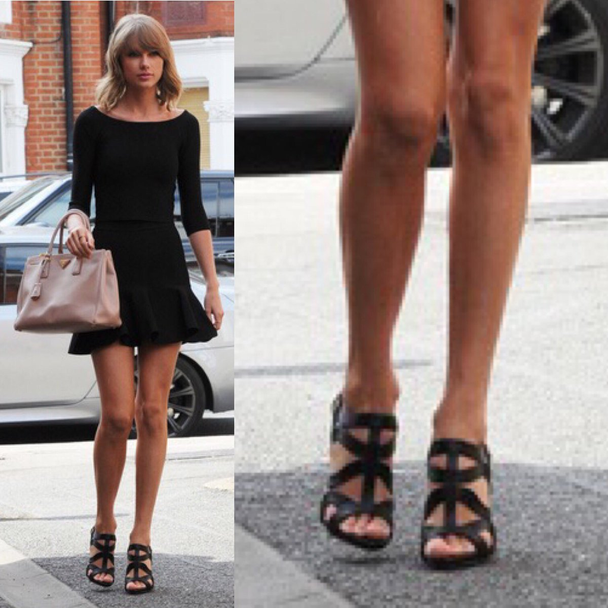 Taylor Swift Polls On Twitter Which Black Shoes Vote Below Taylorswiftnow Taylorswift Swifties Candid Streetstyle Shoes Heels