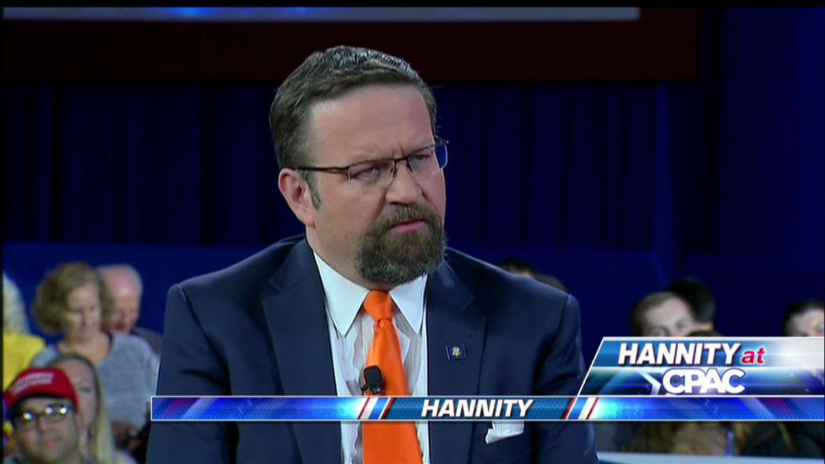 """.@SebGorka: """"When you go to bed at night do you lock the front door? … If you do that, then surely the border is our front door."""" #Hannity <br>http://pic.twitter.com/av8I4ZA7OA"""