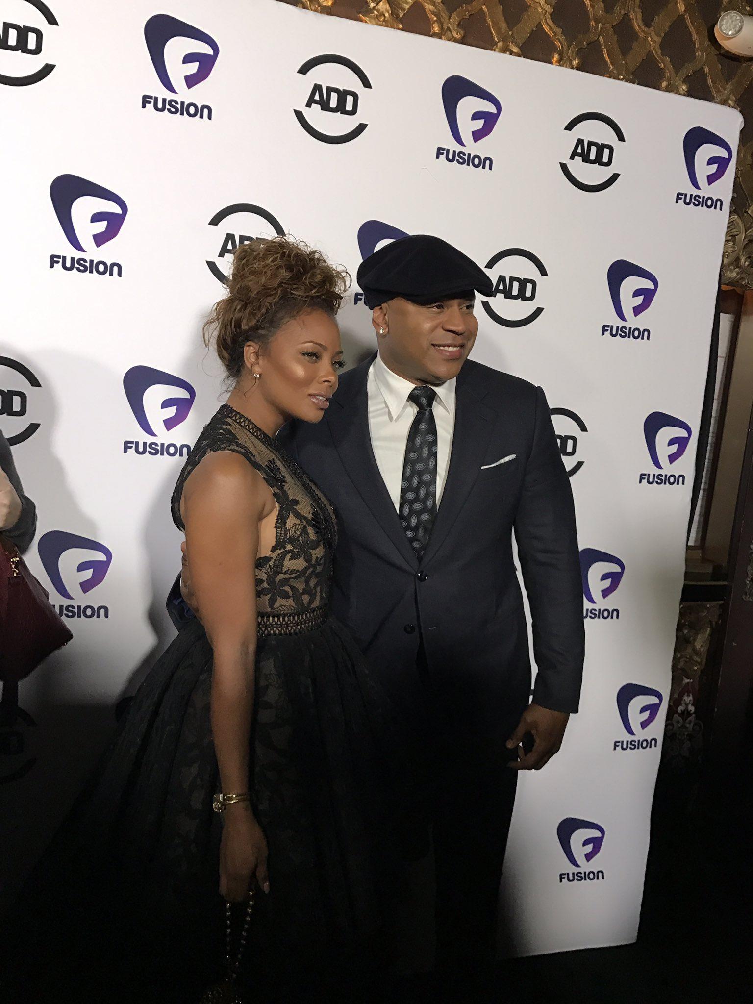 RT @HipHopDX: .@llcoolj & @EvaMarcille taking the black carpet at the @AllDefDigital Movie Awards 🔥 #ADMA https://t.co/fsnpm6Bi1b
