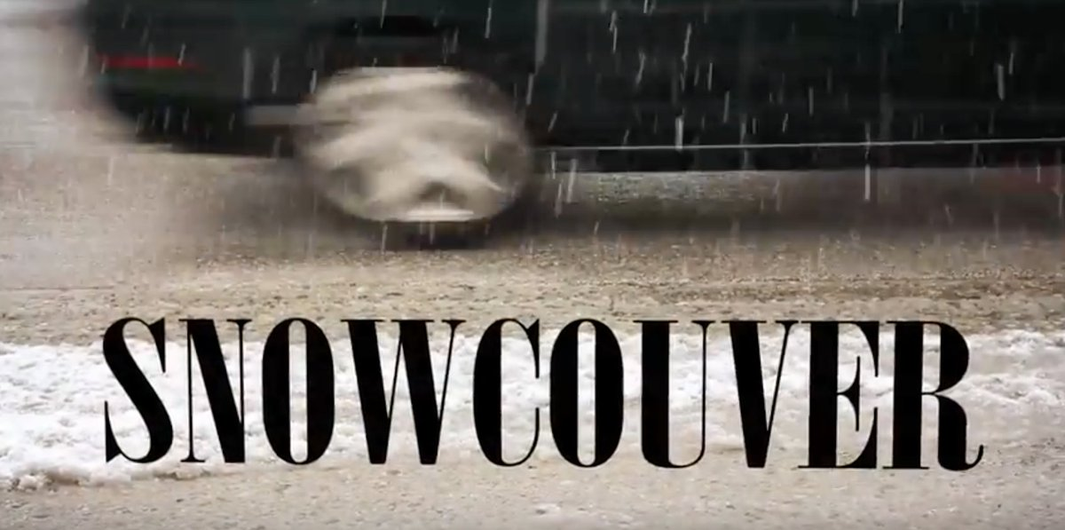 If you liked the last #snowpocalypse in Vancouver, get ready for the remix!  https://www. youtube.com/watch?v=_hwXtF Rqee0 &nbsp; …  #snowcouver #vancity #explorebc #yvr<br>http://pic.twitter.com/9vSR4ZgD0O