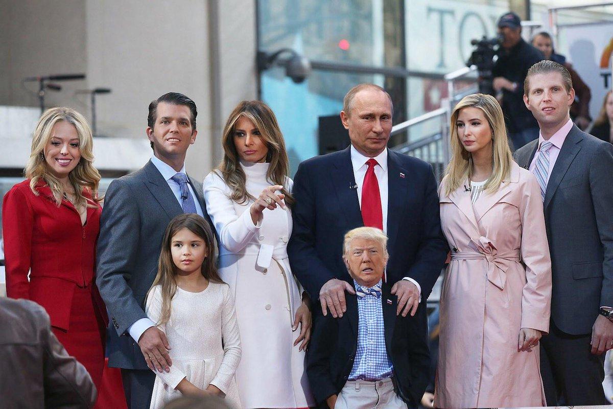The first family  #TrumpPresident #Trumprussia #trumpgate #VladimirPutin #Russia #russiagate #russiatrump #funny #FirstFamily #DonaldTrump<br>http://pic.twitter.com/Csnbrm5COb
