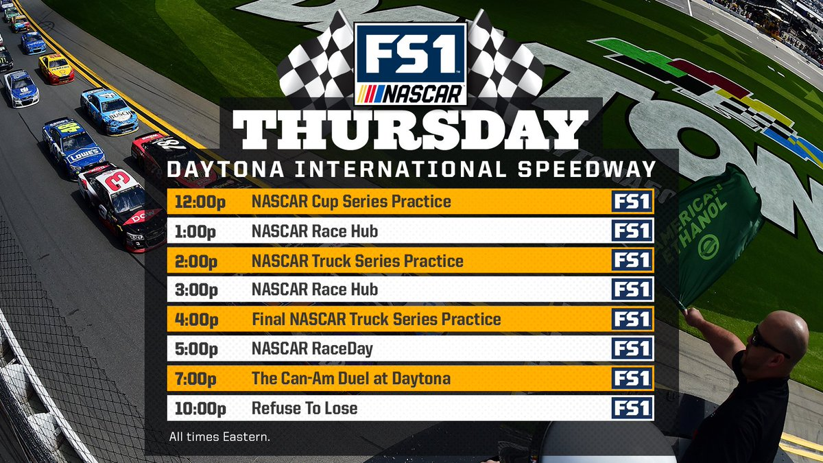 Yeah, you may want to just call in 'sick' tomorrow...  #NASCARonFS1 #C...