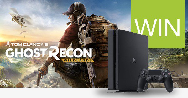 Retweet to #Win Tom Clancy's Ghost Recon: Wildlands + a PS4, or 1 of 4 copies of the game, thanks to Ubisoft... https://t.co/XQPLJDExNB