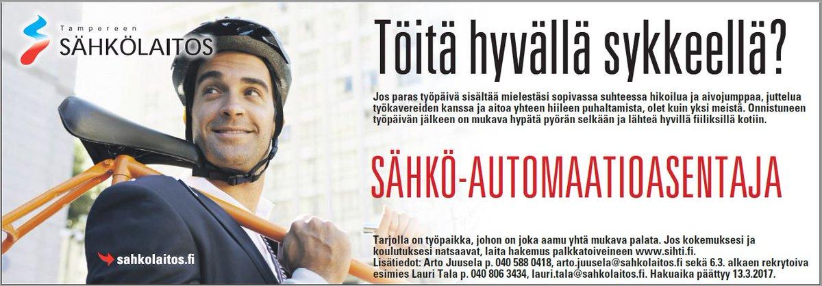 työpaikan vaihto Tampere